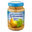 «Бабушкино Лукошко» Груша и яблоко, 5мес+. 190 гр,