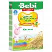 Bebi Premium Каша овсяная безмолочная, 5мес, 200 гр Беби