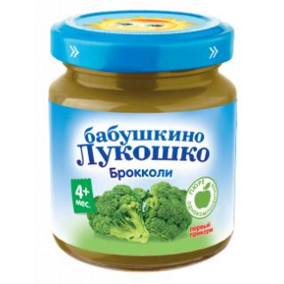 «Бабушкино Лукошко» Брокколи, 100 г, 4мес+