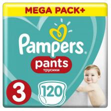 Pampers (Памперс) Подгузники-трусики Pants Midi р.3 (6-11 кг) 120  шт