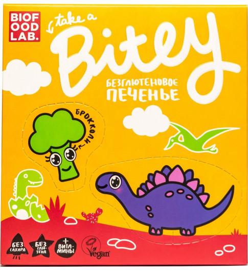 BITEY Печенье Безглютеновое «Брокколи» 125гр
