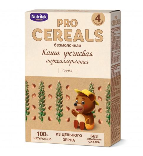 Nutrilak Premium Гречневая, Без молока, Цельнозерновая, 4мес+, 200 гр БЕЗ САХАРА нутрилак