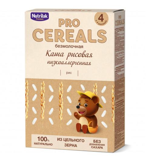 Nutrilak Premium Рисовая, Без молока, Цельнозерновая, 4мес+, 200 гр БЕЗ САХАРА  Нутрилак