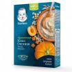 Gerber Каша Без молока Овсяная с тыквой и абрикосом, 6мес+, 180 гр (без сахара, без пальмового масла) Гербер