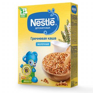 Nestle Каша Гречневая, молочная, 250 гр, 5мес+
