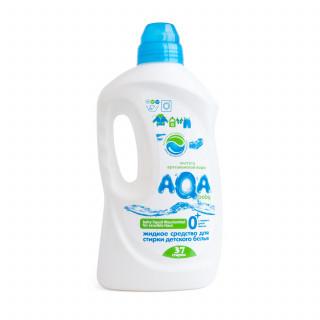 Aqa Baby Жидкое средство (Гель) для стирки детского белья, 1500 мл, 0мес+