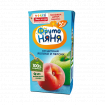 Фрутоняня Сок из яблок и персиков неосветленный, 200 мл без сахара