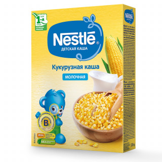 Nestle Каша молочная кукурузная 220г с 5месяцев