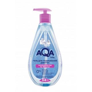 AQA baby Гель для подмывания девочек, 400 мл, 0мес+