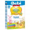 Bebi Premium Каша овсяная с персиком, молочная, 5мес+, 250 гр