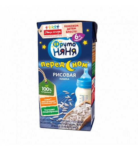 Фрутоняня Жидкая Кашка Рисовая, 6мес+, 200мл