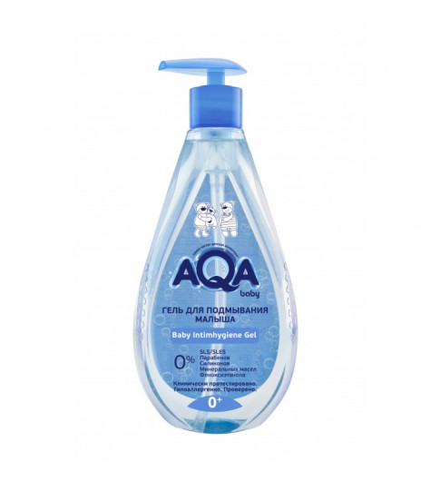 AQA baby Гель для подмывания малыша, 250 мл, 0мес+