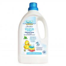 Babyline Sensitive Мягкий гель для стирки детских вещей и пеленок, 1,5л