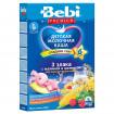 Bebi Premium Каша «Для сладких снов» «3 злака с малиной и мелиссой, 6мес+, 200 г