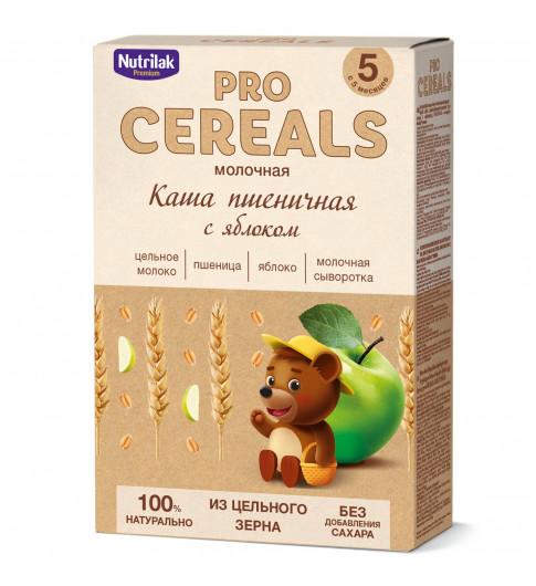 Nutrilak Premium Пшеничная с Яблоком с молоком, Цельнозерновая, 5мес+, 200 гр БЕЗ САХАРА