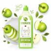Synergetic Средство для мытья посуды Яблоко, 1 литр -  игрушек, фруктов Синиргетик