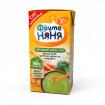 Фрутоняня Пюре крем-суп из Брокколи, Цветной капусты и моркови со сливками, 6мес+, 200мл
