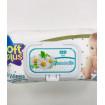 Soft Plus влажные салфетки для детей, без спирта, 120 шт, 0мес+, ромашка