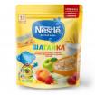 Nestle Каша Шагайка 5 Злаков Яблоко, земляника и персик, 12мес+, 200гр