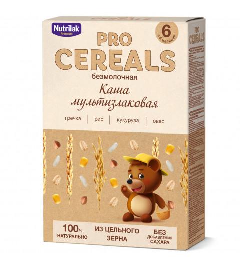 Nutrilak Premium Мультизлаковая, Без молока, Цельнозерновая, 6мес+, 200 гр БЕЗ САХАРА нутрилву