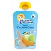 «Бабушкино Лукошко» Пюре яблоко и банан, 6мес+, 90гр