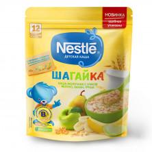 Nestle Каша Шагайка 5 Злаков Яблоко, банан и груша, 12мес+, 200гр Нестле