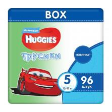 Huggies Подгузники-Трусики для мальчиков  5 (13-17 кг) 96 шт
