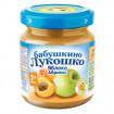 «Бабушкино лукошко» пюре из яблок и абрикосов, 5мес+, 100гр