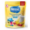 Nestle Каша мультизлаковая с бананом и земляникой, молочная, 220 гр, 8мес+