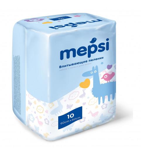 Mepsi Детские впитывающие пеленки, 60×60, 10 ш