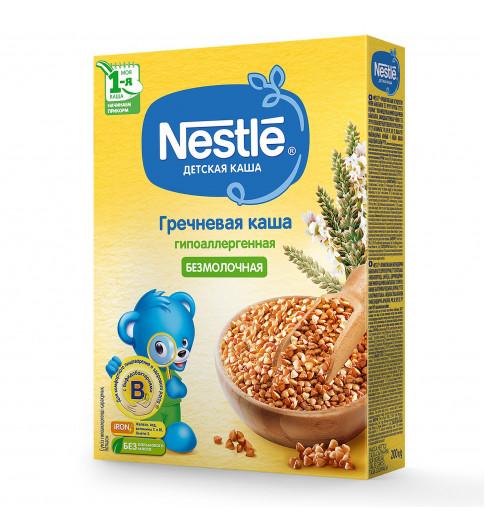 Nestle Каша гречневая, безмолочная, гипоаллергенная, 200 гр, 4мес+