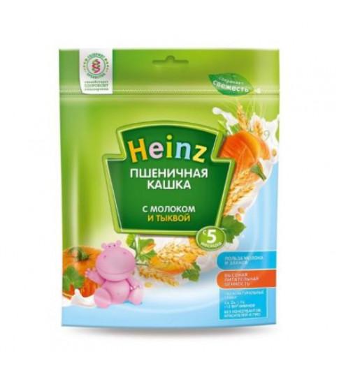 Heinz Каша Пшеничная с молоком и тыквой, 5мес+, 200гр хайнц