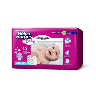 Helen Harper Детские впитывающие пеленки, 60×60, 10 шт