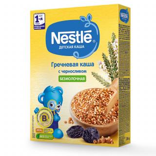 Nestle Каша гречневая с чернослив, безмолочная, 4мес+, 200гр