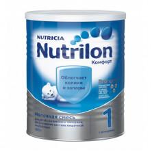 Nutrilon Комфорт 1 молочная смесь, 400гр, 0мес+  (облегчает колики и запоры)