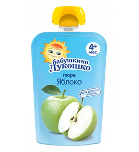 «Бабушкино Лукошко» Пюре из яблок, 4мес+, 90гр