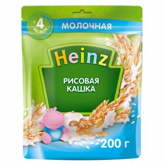 Heinz Каша Рисовая  с молоком, 4мес+, 200гр
