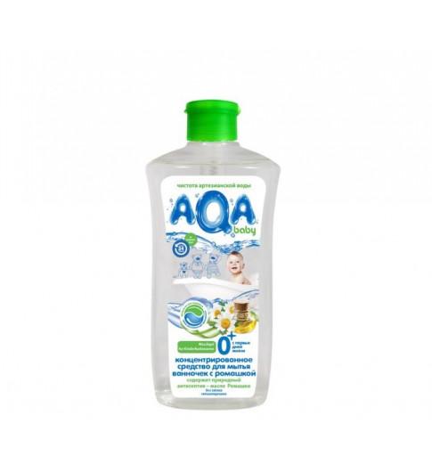 AQA baby Концентрированное средство для мытья ванночек с ромашкой 500 мл