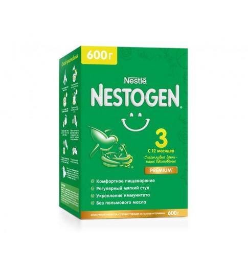 Nestogen 3 Детское молочко для комфортного пищеварения , 12мес+, 600 гр (Нестожен)
