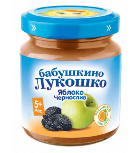 «Бабушкино Лукошко» Яблоко и чернослив, 100 г, 5мес+