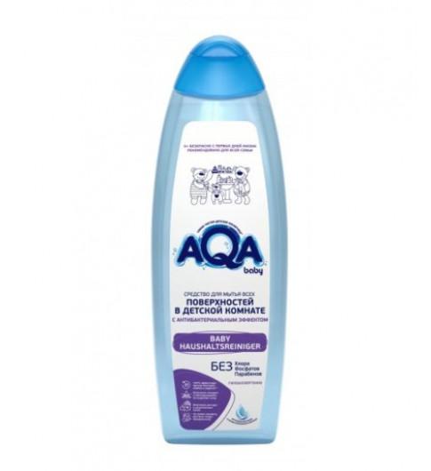 Aqa baby для очищения всех поверхностей в детской комнате с антибактер. эффектом, 500мл