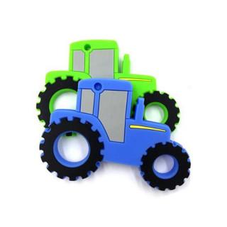 Бусинка  Прорезыватель силиконовый Трактор, 0мес+