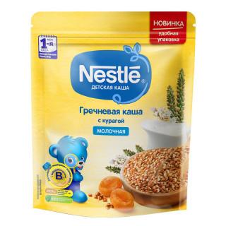 Nestle Каша молочная Гречневая с курагой, 5мес+, 220гр Нестле