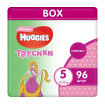 Huggies Подгузники-Трусики для девочек 5 (13-17 кг) 96 шт