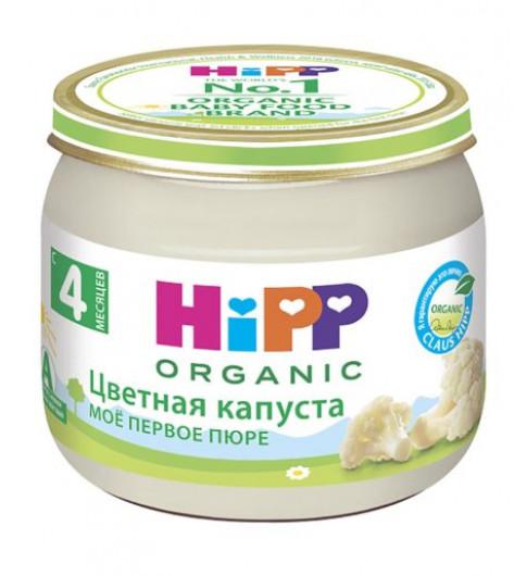Hipp Пюре Цветная капуста, 4мес+, 80гр