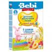 Bebi Premium Каша 5 злаков с абрикосом и малиной, 6мес+, 200гр