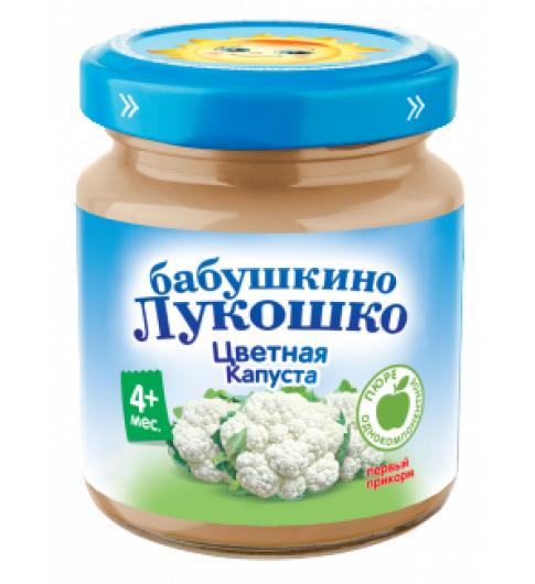 «Бабушкино Лукошко» цветная капуста, 100 г, 4мес+