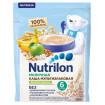 Nutrilon Каша молочная Мультизлаковая Яблоко Банан, без сахара, 200 гр