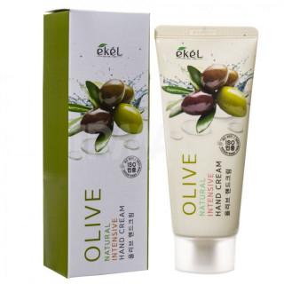 Ekel Natural - Крем для рук интенсивный с Оливой, 100 мл.