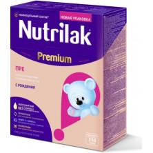 Nutrilak Premium ПРЕ смесь для недоношенных детей, 0мес+, 350 гр